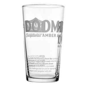 Doombar Glasses CE 20oz / 580ml