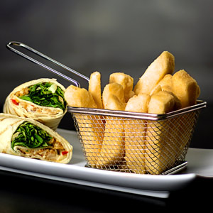 Mini Food Presentation Fry Basket 10.5 x 9 x 7cm