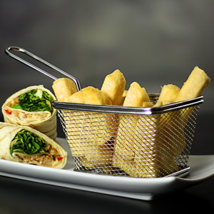 Mini Food Presentation Fry Basket 12.2 x 9.8 x 8cm