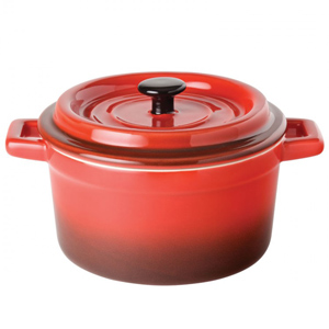 Utopia Gourmande Flame Round Casserole Dish 5.5inch 27.5oz / 79cl