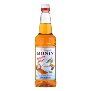 Monin Sugar Free Caramel Syrup 1ltr