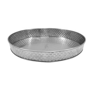 Brickhouse Stainless Steel Round Diner Platter 20.5cm