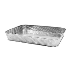 Brickhouse Stainless Steel Rectangular Diner Platter 31cm