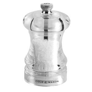 Cole & Mason 125 Acrylic Salt Mill