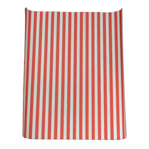 Red Striped Greaseproof Burger Wrap 355mm x 260mm