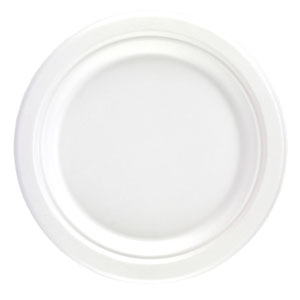 Dispo Bagasse Round Plates 9inch
