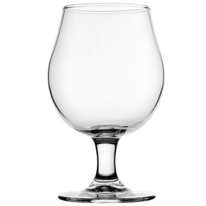 Toughened Draft Beer Glasses Lined @ 2/3rd pint 16.75oz / 480ml