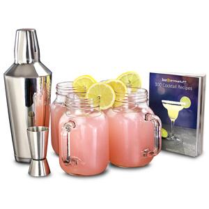 Mason Jar Cocktail Set