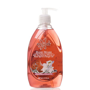 Fusion Rose Spirit and Ginger Oil Handwash 500ml