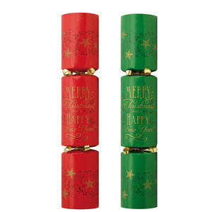 Duni Christmas Wishes Crackers 11inch