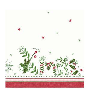 Duni Once Upon a Time Christmas Napkins 40cm 2ply