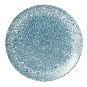 Studio Prints Raku Coupe Plate Topaz Blue 6.5inch / 16.5cm