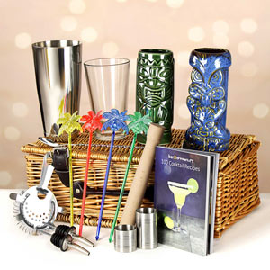 Deluxe Tiki Cocktail Gift Hamper