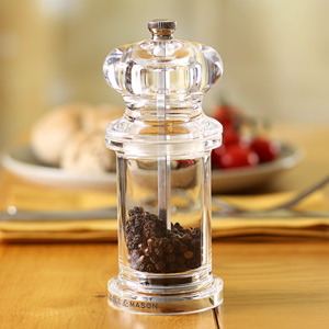 Cole & Mason 505 Acrylic Pepper Mill