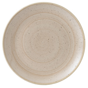 "Churchill Stonecast Nutmeg Cream Coupe Plate 11.25"" / 28.8cm"