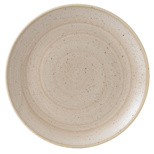"Churchill Stonecast Nutmeg Cream Coupe Plate 10.25"" / 26cm"