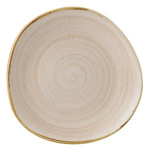 "Churchill Stonecast Nutmeg Cream Organic Round Plate 11.25"" / 28.6cm"