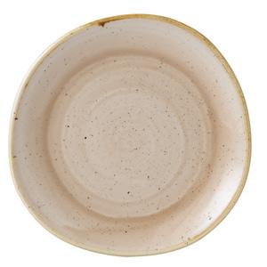 "Churchill Stonecast Nutmeg Cream Organic Round Plate 8.25"" / 21cm"