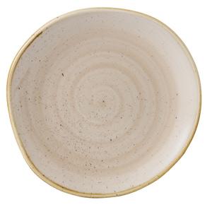 "Churchill Stonecast Nutmeg Cream Organic Round Plate 7.25"" / 18cm"