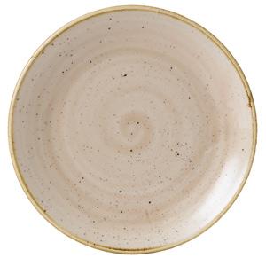 "Churchill Stonecast Nutmeg Cream Coupe Plate 6.5"" / 16.5cm"