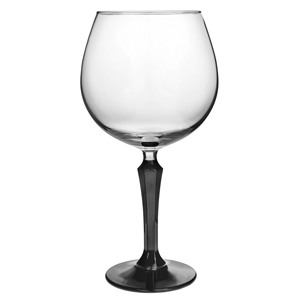 Speakeasy Gin Cocktail Glasses Black Stem 20.5oz / 585ml