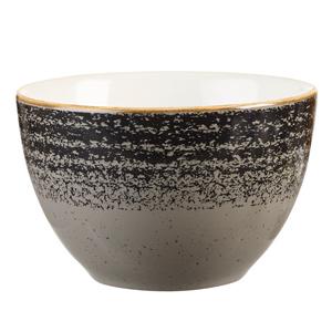 Studio Prints Homespun Sugar Bowl Charcoal Black 8oz / 227ml
