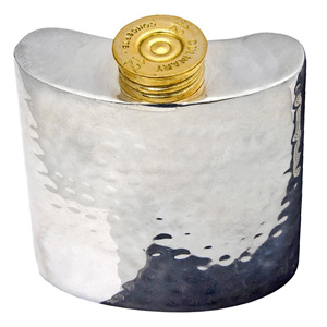 Hammered Effect Mini Hip Flask 3.5oz / 100ml