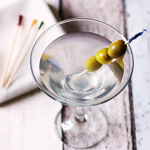 Cello Frill Cocktail Picks