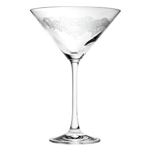 Filigree Martini Glasses 10oz / 280ml