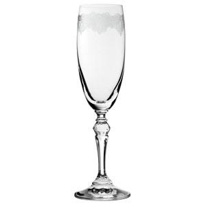 Filigree Champagne Flutes 6oz / 170ml