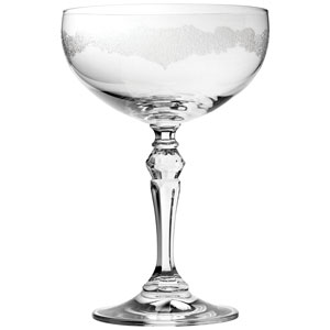 Filigree Champagne Saucers 9oz / 260ml