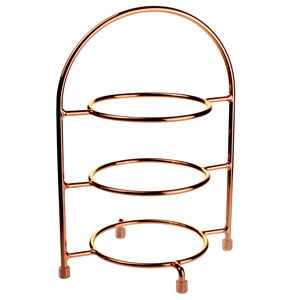3 Tier Copper Cake Stand