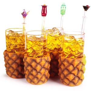 Pineapple Glasses 10oz / 285ml