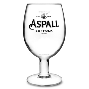 Aspall Cider Goblet Pint Glasses CE 20oz / 568ml