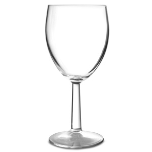 Saxon Toughened Wine Glasses 12oz LCE at 250ml
