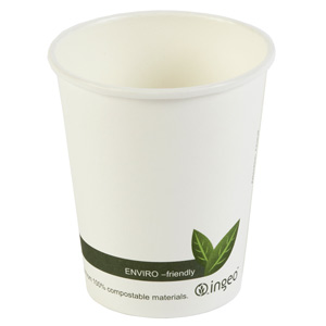 Compostable Hot Drink Cups 8oz / 230ml