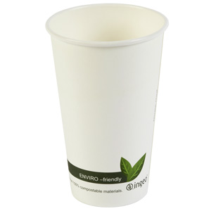 Compostable Hot Drink Cups 16oz / 450ml