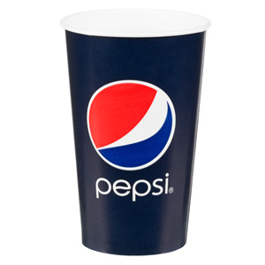 Pepsi Paper Cups 16oz / 450ml