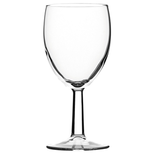 Saxon Wine Glasses 9oz LCE at 175ml