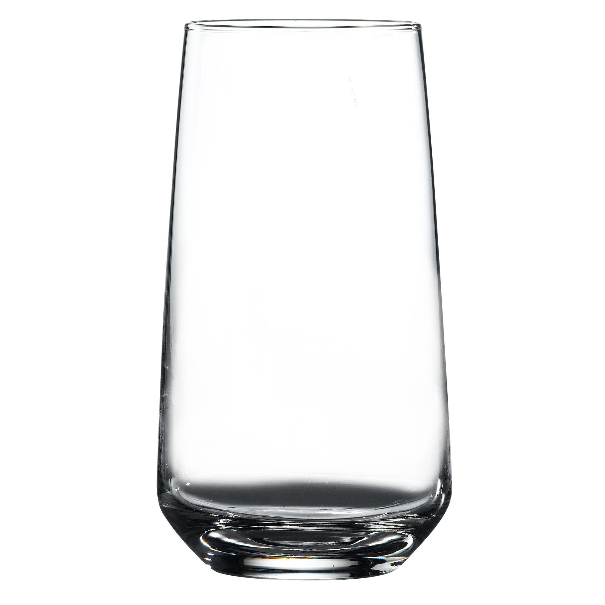 Aras Tall Tumblers 10.5oz Tall Cocktail Glass Tumblers 300ml Set of 6