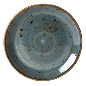 "Steelite Craft Coupe Plate Blue 10"" / 25.25cm"