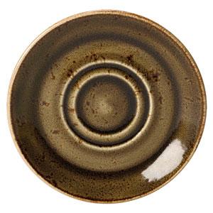 "Steelite Craft Soup Stand Saucer Brown 6.5"" / 16.5cm"