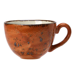 Steelite Craft Low Cup Terracotta 8oz / 230ml