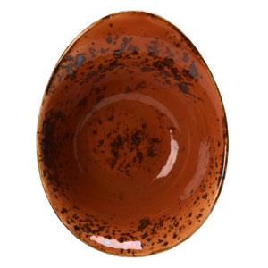 "Steelite Craft Freestyle Bowl Terracotta 7"" / 18cm"