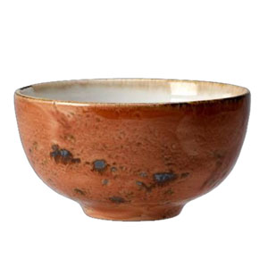 "Steelite Craft Chinese Bowl Terracotta 5"" / 13cm"