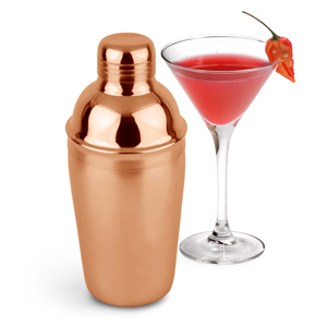 Copper Cobbler Cocktail Shaker 18oz / 500ml