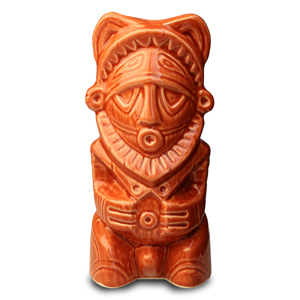 Papu Terracotta Tiki Mug 12.7oz / 360ml