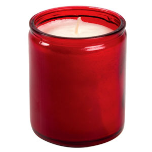 Starlight Jar Candles Red