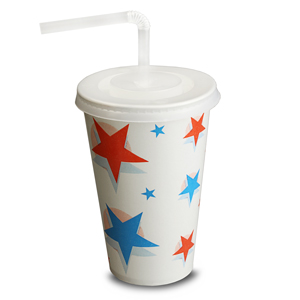 Star Design Cups Set 12oz / 340ml