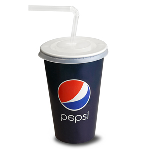 Pepsi Paper Cups Set 12oz / 340ml